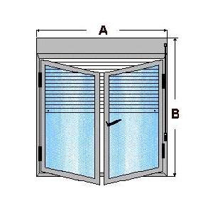 ventana de aluminio practicable economica