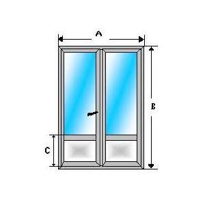 balconera aluminio