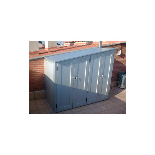 Armarios de aluminio for Armario escobero exterior aluminio