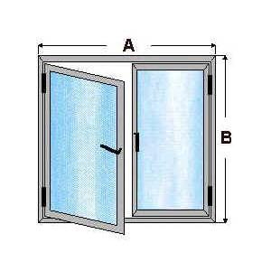 ventana de aluminio practicable barcelona